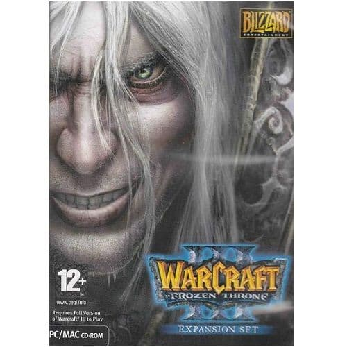 Warcraft 3 The Frozen Throne Expansion Pack PC Game