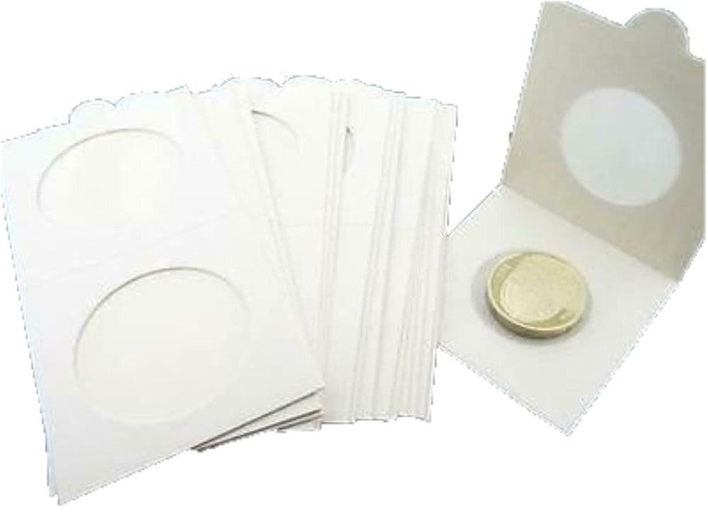 100 Self Adhesive Lighthouse Coin Holders
