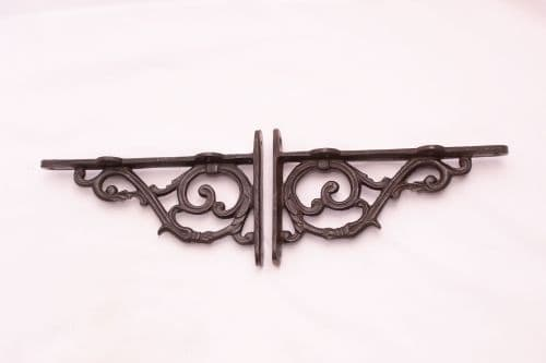 Intricate Scroll Shelf Bracket