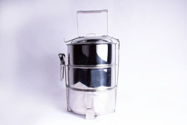 Stainless Steel Tiffin 3 Tier 7 Piece Thermal Food Box