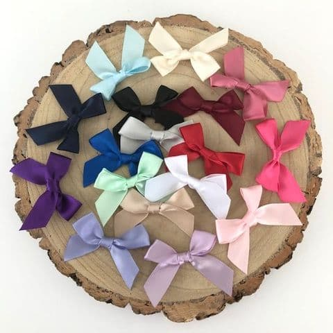 Assorted Satin Large 15mm Ribbon Bow Pack