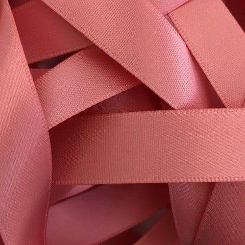 Dusty Rose Pink Double SatinRibbon