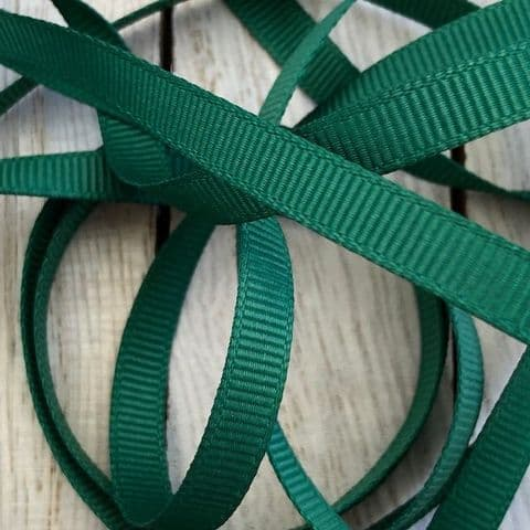 Forest Green Grosgrain Ribbon
