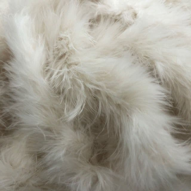 Ivory Marabou Feather Trimming