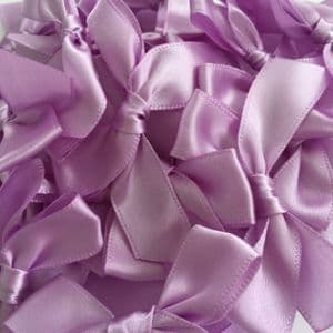 Light Orchid Satin Large 15mm Ribbon Bows