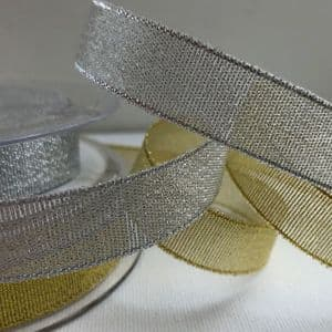 Metallic Lurex Ribbon 12mm