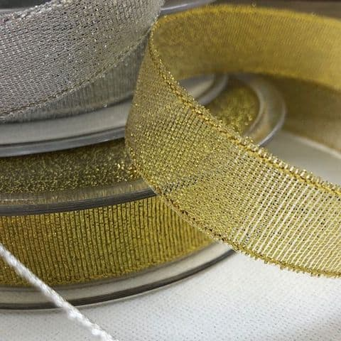 Metallic Lurex Ribbon 16mm
