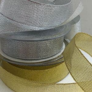 Metallic Lurex Ribbon 25mm