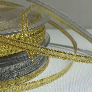 Metallic Lurex Ribbon 3mm