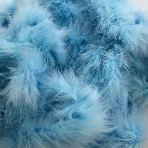 Pale Blue  Marabou Feather Trimming
