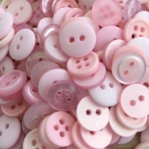 Pale Pink/Light Pink Button Pack