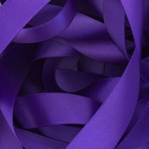 Regal Purple Double Satin Ribbon