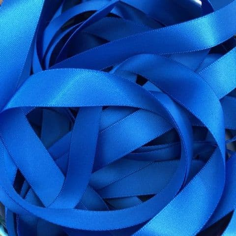 Royal Blue Double Satin Ribbon