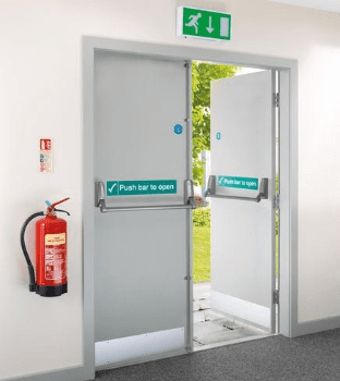 External Budget Fire door FD30