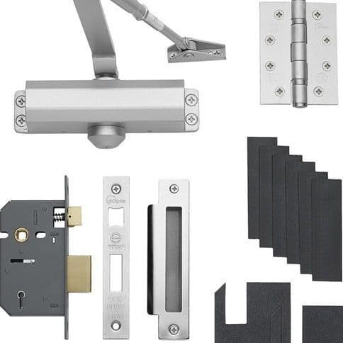 Fire Rated Domestic Lock Pack
