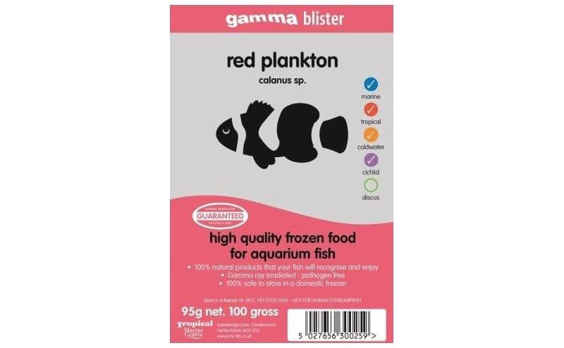 Gamma Red Plankton Blister Pack 100g