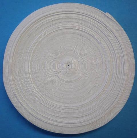 "3/4"" Elastic on 25 metre reels/19mm"