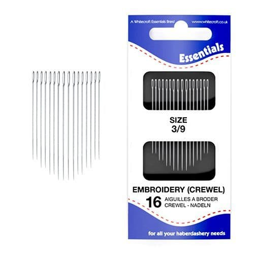 70031 Embroidery (Crewel) 3/9 Hand Sewing Needle