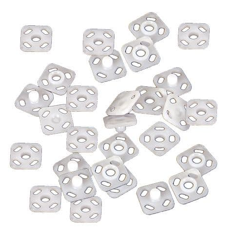 74531 Snap Fasteners White