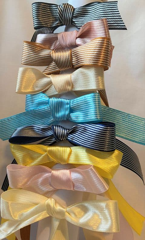 Pinstripe  Christmas Ribbon