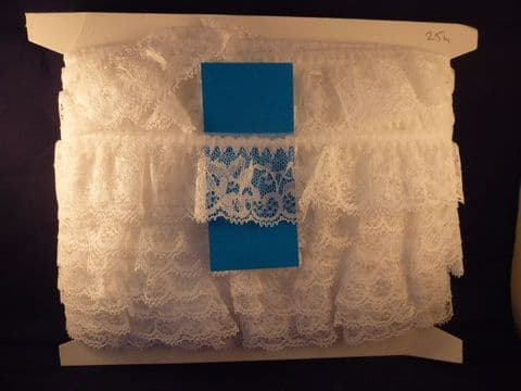 """SB50 2"""" Frilled Lace/Designs Can Very"""