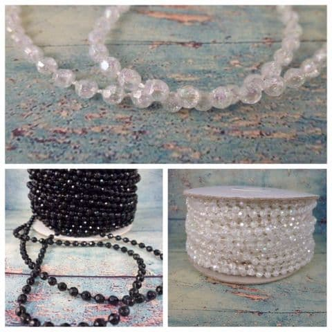 TR5 4mm Faceted Beads