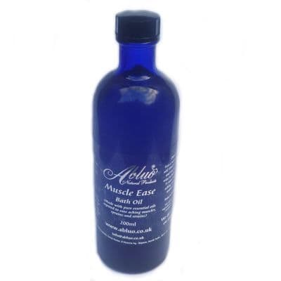 Abluo Muscle Ease Bath Oil 200ml- With Pure Essential Oils
