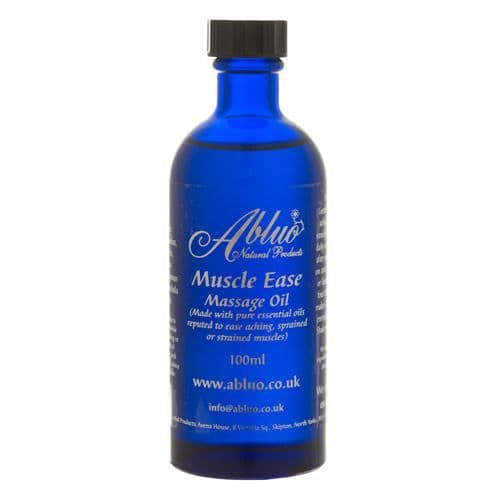 Abluo Muscle Ease Massage Oil 100ml