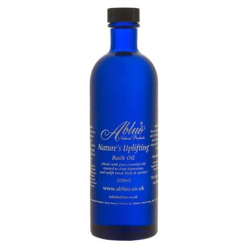 Abluo Nature's Uplifting Luxury Bath Oil 200ml-With Pure Essential Oil