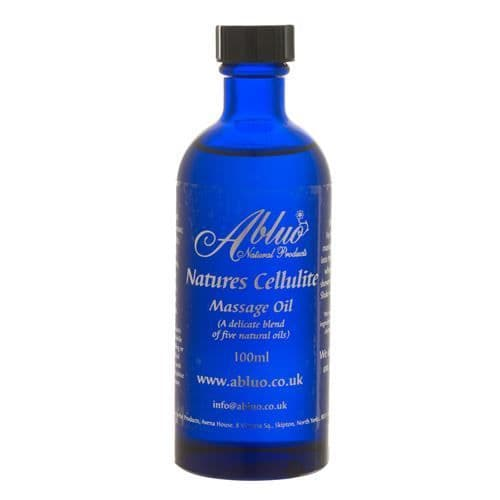 Abluo Natures Cellulite Aromatherapy Massage Oil 100ml