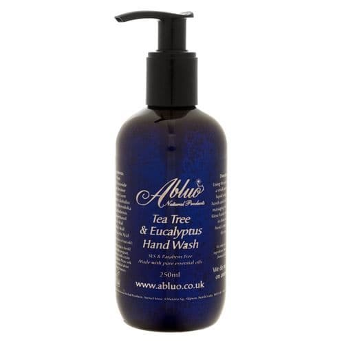 Abluo Tea Tree & Eucalyptus SLS Free Luxury Hand Wash 250ml