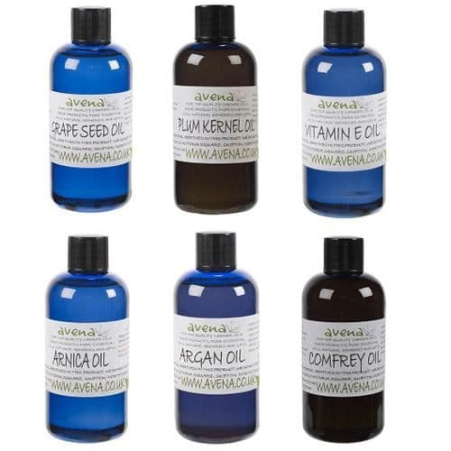 Avena Aromatherapy Base Oil 6 Bottle Gift Pack