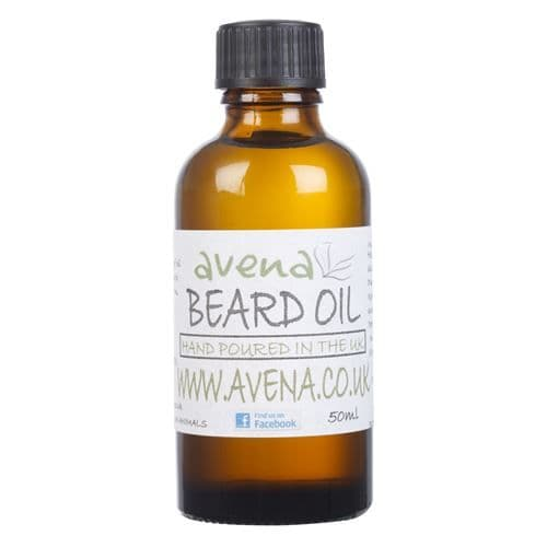 Avena Beard Oil 50ml - Made With Essential Oils