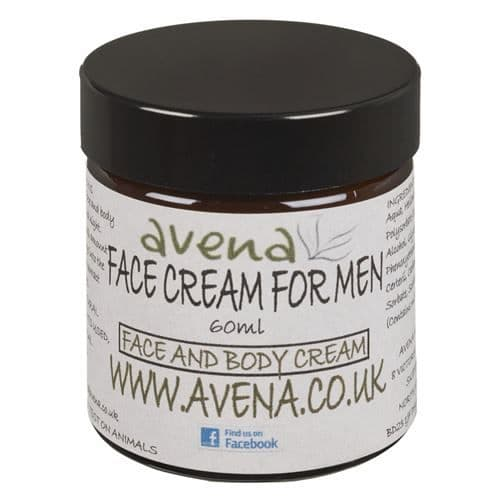 Avena Face Cream For Men. A Luxury Face & Body Treatment