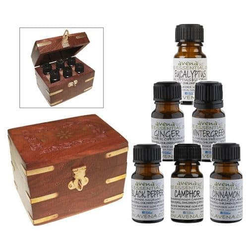 Avena Winter Essential Oil Gift Box