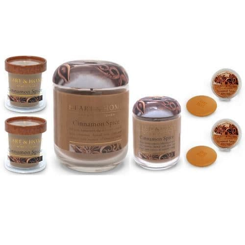 Cinnamon Spice Heart & Home Gift Set 6 Piece