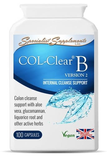 Col Clear B, Internal Colon Cleanse Support With Active Herbs