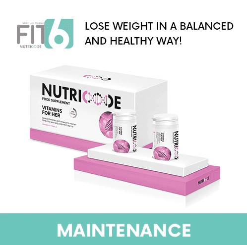 FIT 6 Maintenance Stage - Nutricode Vitamins For Her