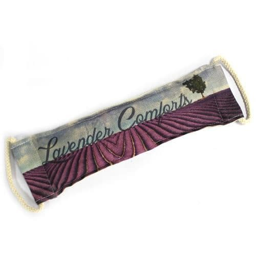 Luxury Lavender Comforts Wheat Bag in Gift Box