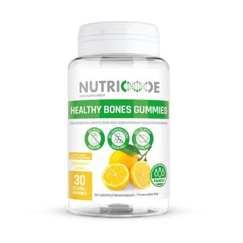 Nutricode Healthy Bones Gummies - For Children & Adults
