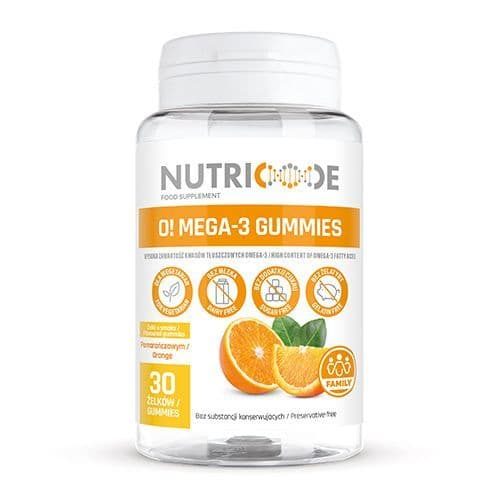 Nutricode Omega 3 Gummies - For Children & Adults