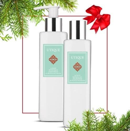 Utique Grapefruit & Orange Blossom Body Care Duo Set 200ml
