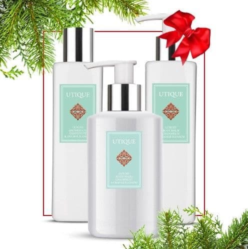Utique Grapefruit & Orange Blossom Body Care Trio Set