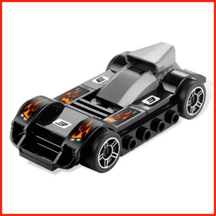 LEGO Racers Tiny Turbos Le Mans Racer Racing Car New & Sealed Polybag 7802 Gift