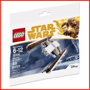 LEGO Star Wars Solo Movie Imperial AT-Hauler New & Sealed Polybag 30498 Gift