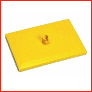 LEGO Train Parts Bogie Plate Yellow Spare No 4025 9V RC & Power Functions NEW