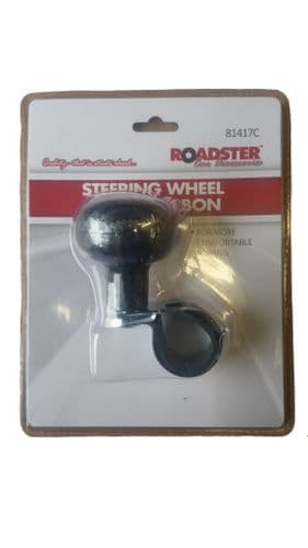 Steering Wheel assistant Knob Carbon Forklift, HGV Lorry