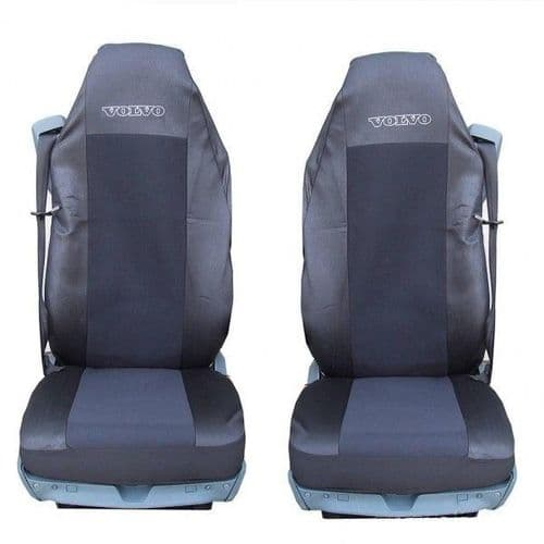 Volvo Truck HGV QualityTailored Seat Covers - Black WEB109