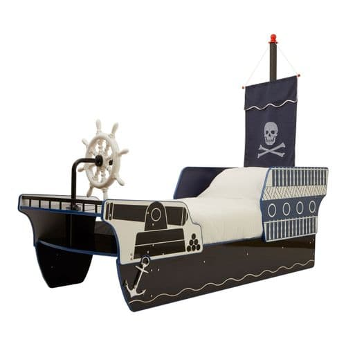Ahoy Pirate Ship Bed