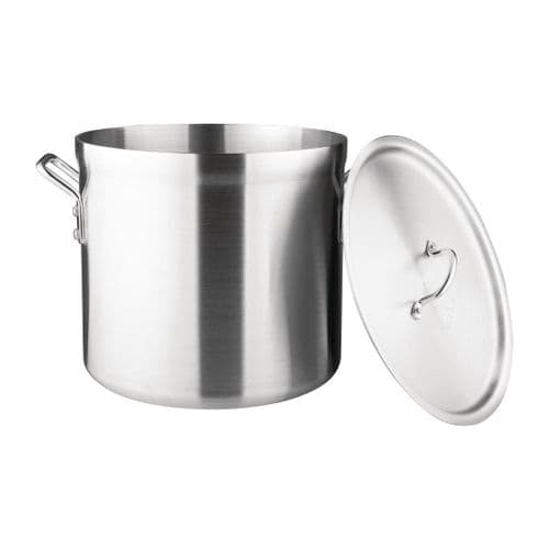 Aluminium Cooking Pot With Cover - 8ltr